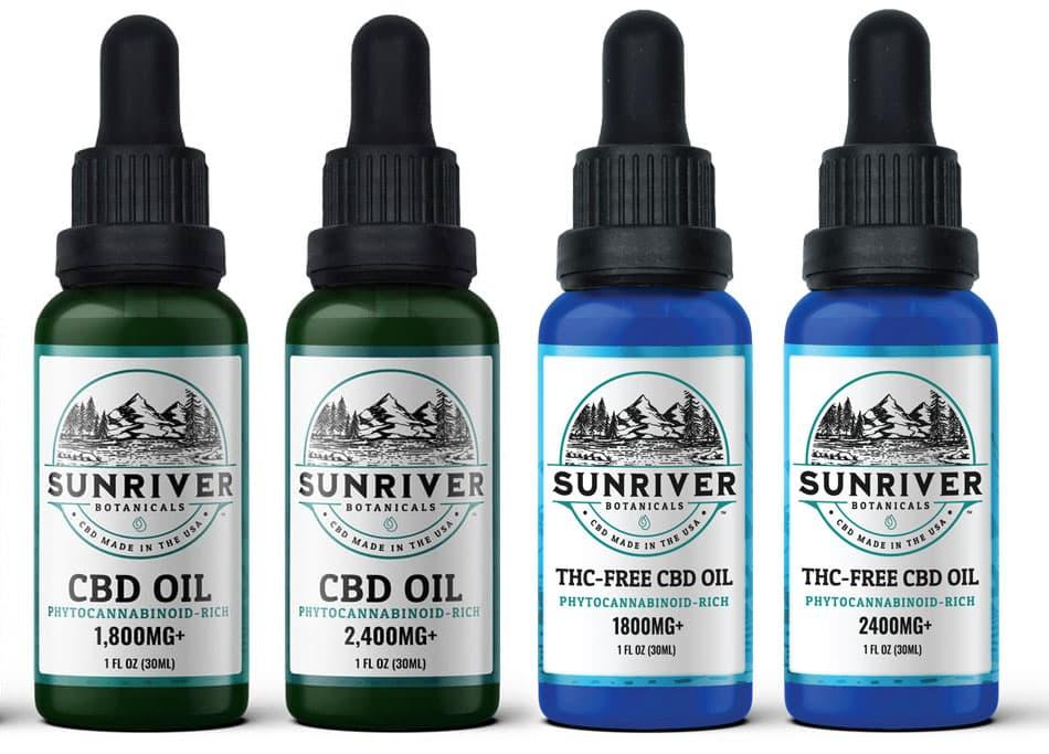 CBD Oil and THC free oil